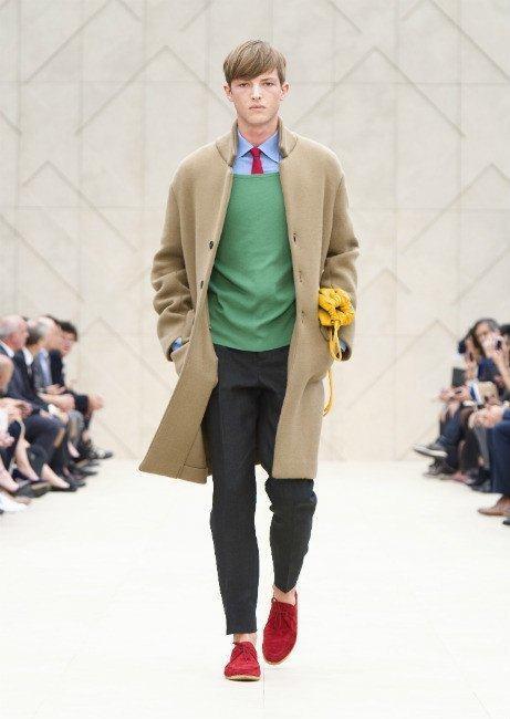burberry-hombre-primavera-verano-2014-color-verde