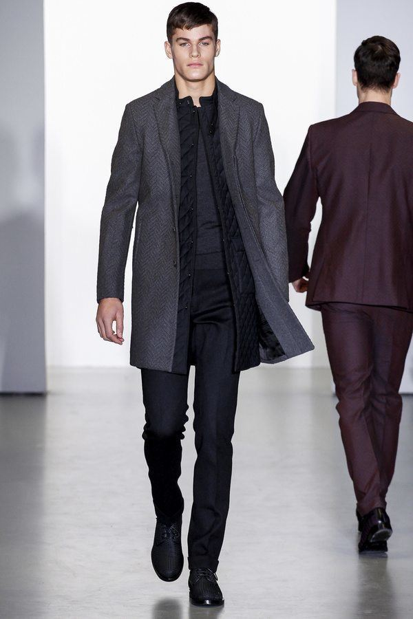 CALVIN KLEIN COLLECTION MEN'S FALL 2014 | The Skinny Beep