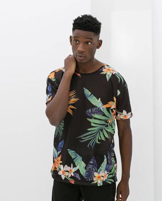 tendencias-camisetas-hombre-verano-2014-flores-tropicales-zara
