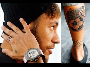 tatuajes-neymar-2015-tatuaje-pierna