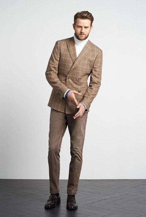 tommy-hilfiger-otono-invierno-2014-2015-blazer-marron-cuadros