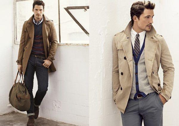 moda abrigos y chaquetas hombre invierno 2015 2016