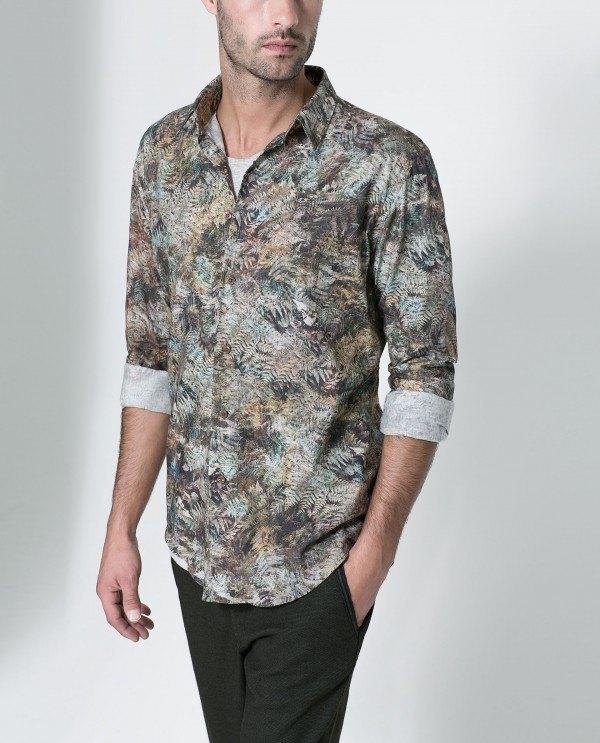 moda-camisas-hombre-otono-invierno-2015-2016-tendencias-camisa-estampada-helecho