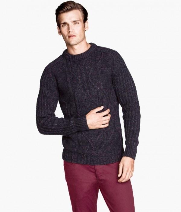 moda-sudaderas-y-jerseis-hombre-otono-invierno-2013-2014-tendencias-trenzado-azul
