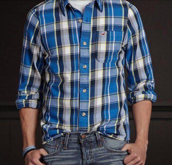 Camisas Rebajas Verano Hollister 2015 camisas de cuadros