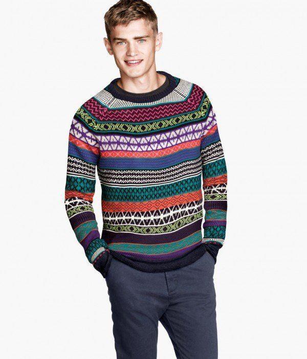 tendencias-navidad-2013-hombres-jersey-punto-estampado