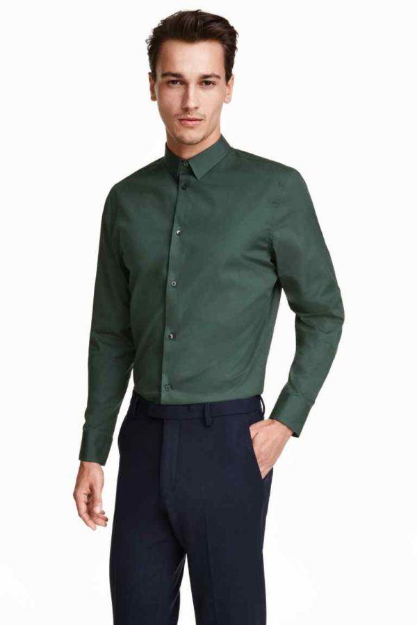 Tendencias-Navidad-2015-hombres-colores-verde-oscuro-de-H&M