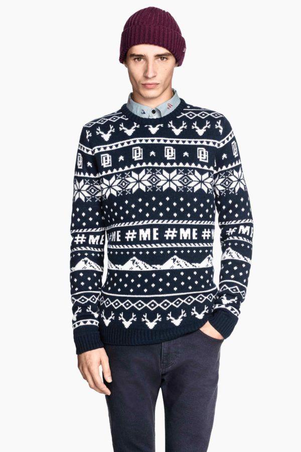 moda-hombre-navidad-2014-jersey-jaquard-h&m