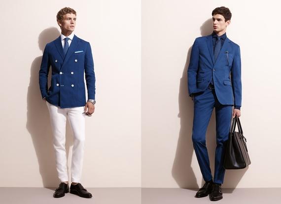 tendencias-americanas-blazers-hombre-2014-blazers-Tommy-hilfiger-en-azul