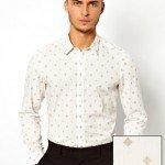 tendencias-camisas-hombre-2014-camisa-blanca-estampado-jaquard-asos