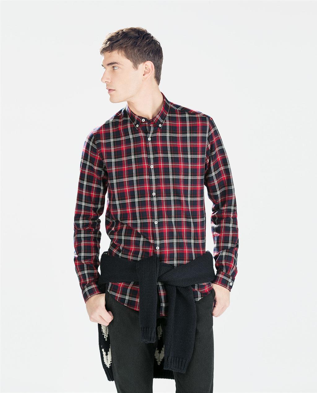 tendencias-camisas-hombre-2015-camisa-de-cuadros-de-zara