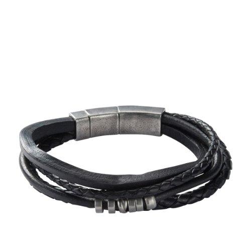 fossil pulsera de acero