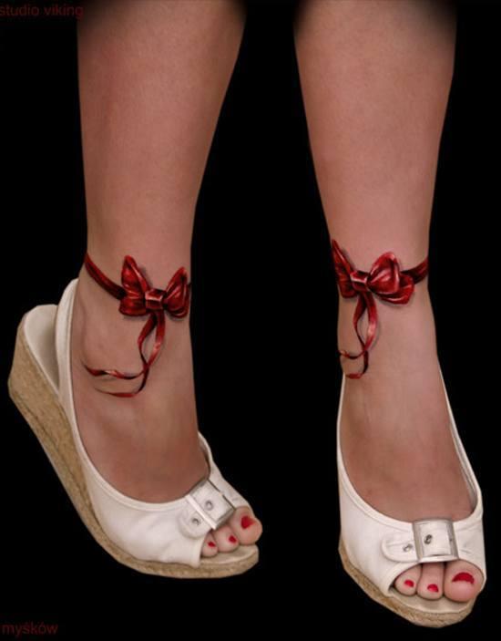 las-fotos-de-tatuajes-en-3d-estrella-lazos