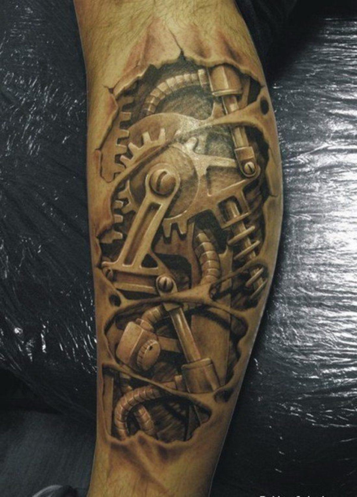 Las mejores 22 fotos de tatuajes en 3D - Modaellos.com