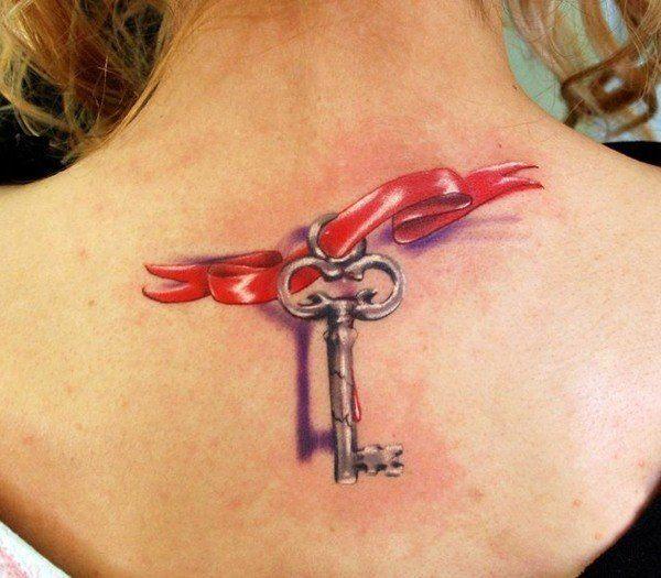 las-fotos-de-tatuajes-en-3d-llave