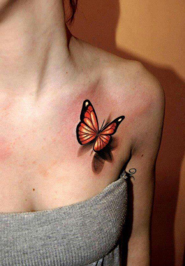 las-fotos-de-tatuajes-en-3d-mariposa
