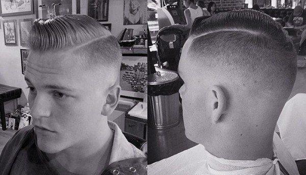 Peinados De Lado Para Hombres Pelo Corto Peinados Novias