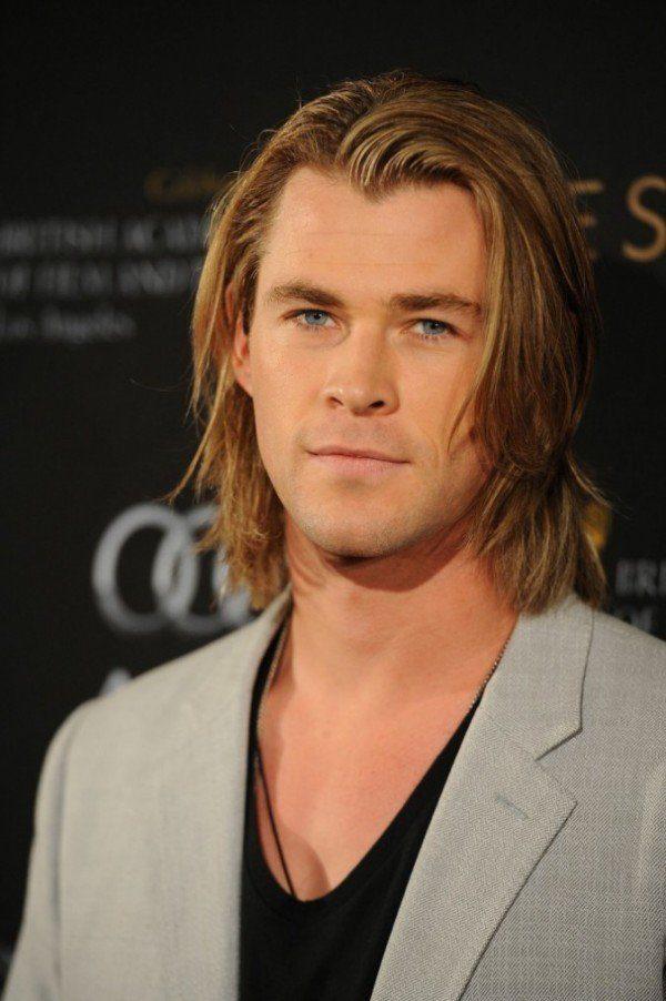 Media melena para el hombre Primavera- Verano 2015 Chris Hermsworth