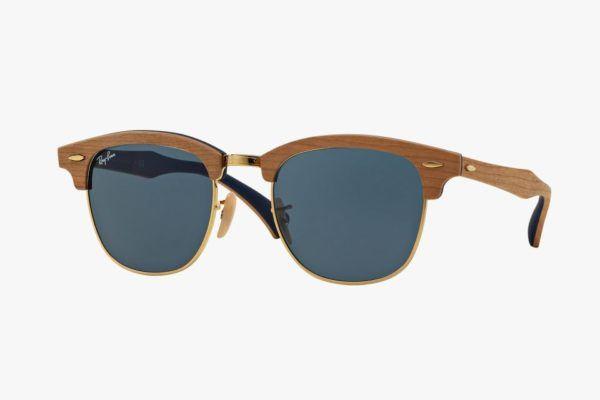 tendencias-gafas-de-sol-2015-modelo-Ray-Ban-Wood-Clubmaster
