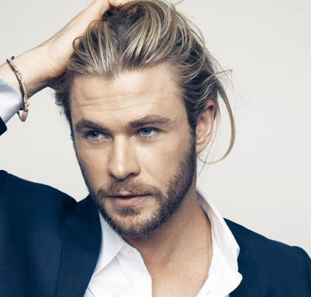chris hemsworth peinados y cortes de pelo