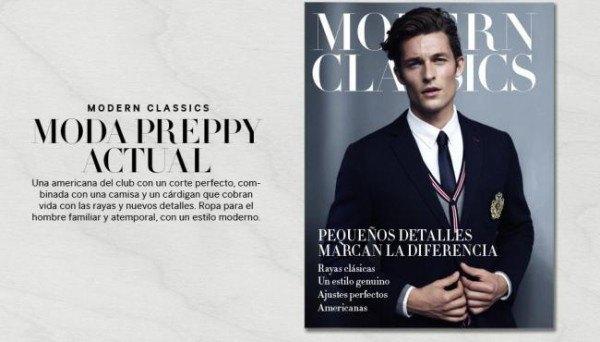 """Campaña """"preppy"""" H&M primavera verano 2015"""
