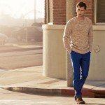 hm-primavera-verano-2014-domingo-primaveral-jersey-pantalon-azul