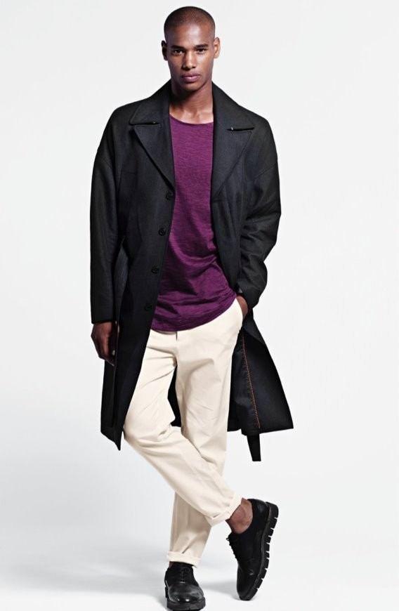 Lookbook H&M primavera-verano 2015 gabardina