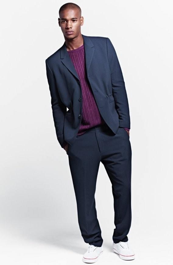 Lookbook H&M primavera-verano 2015 traje años 90