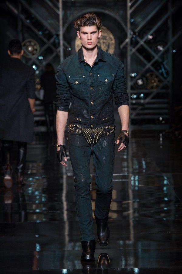 versace-hombre-otono-invierno-2014-2015-camisa-pantalon-denim