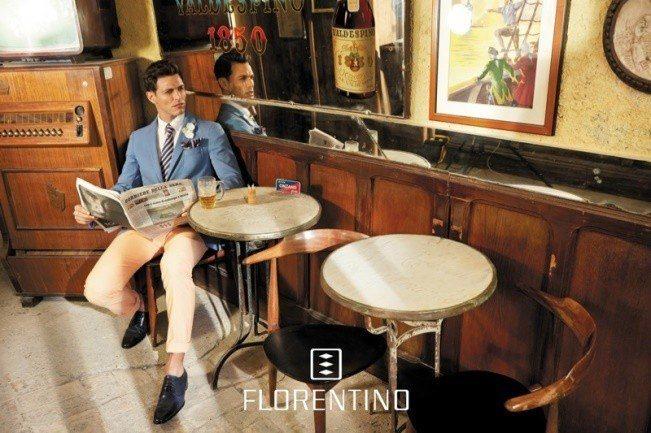 florentino-primavera-verano-2014-hombre-blazer-azul-pantalon-blanco