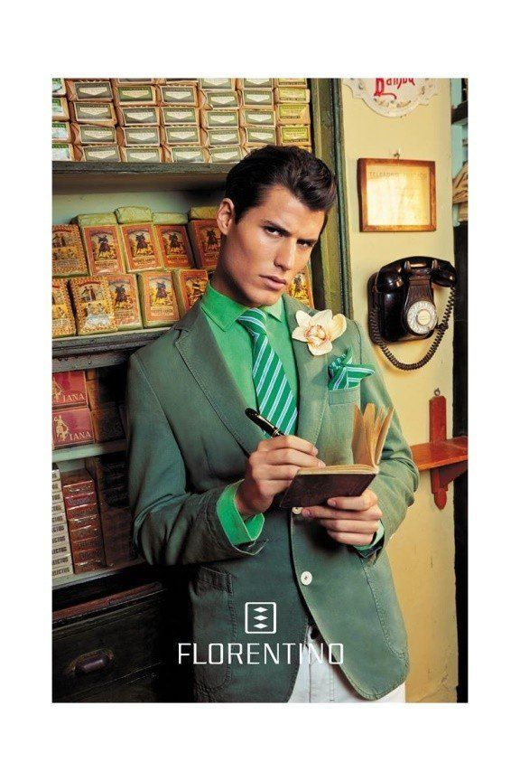florentino-primavera-verano-2014-hombre-traje-casual-blazer-verde