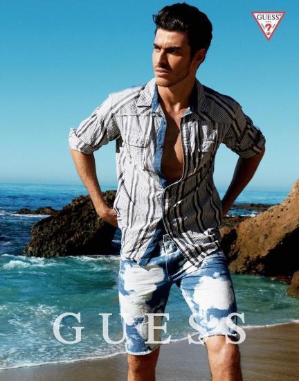 guess-hombre-primavera-verano-2014-camisa-rayas