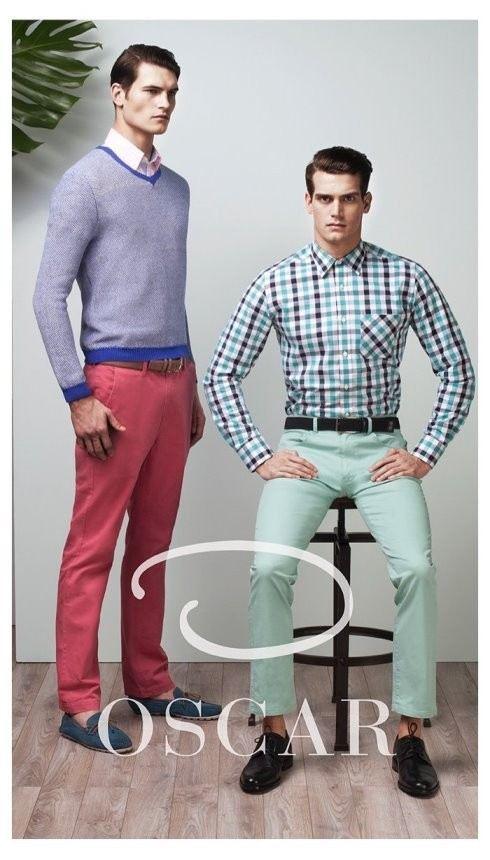 oscar-by-oscar-de-la-renta-hombre-primavera-verano-2014-jersey-camisa-cuadros
