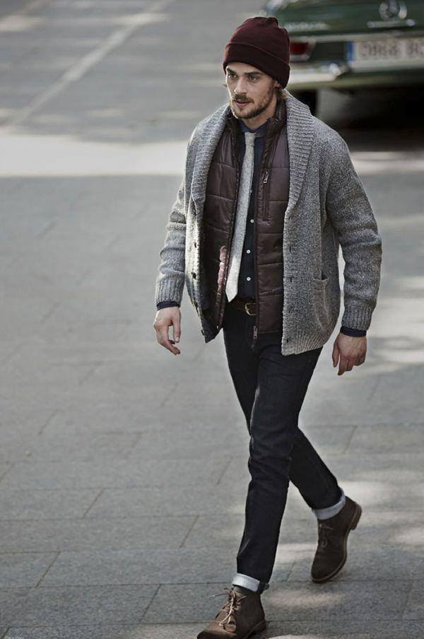 sfera-y-su-coleccion-para-hombre-de-otoño-invierno-2015-2016-cardigan-con-chaqueta-acolchado