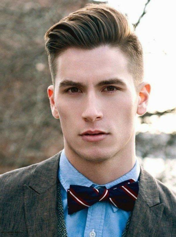 Peinados formales modernos hombres