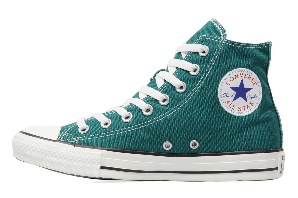 converse verde mujer