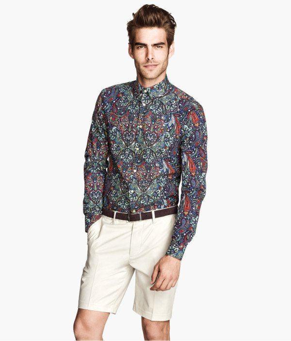 2016 verano moda hombres Jean camisas lavado de agua manga
