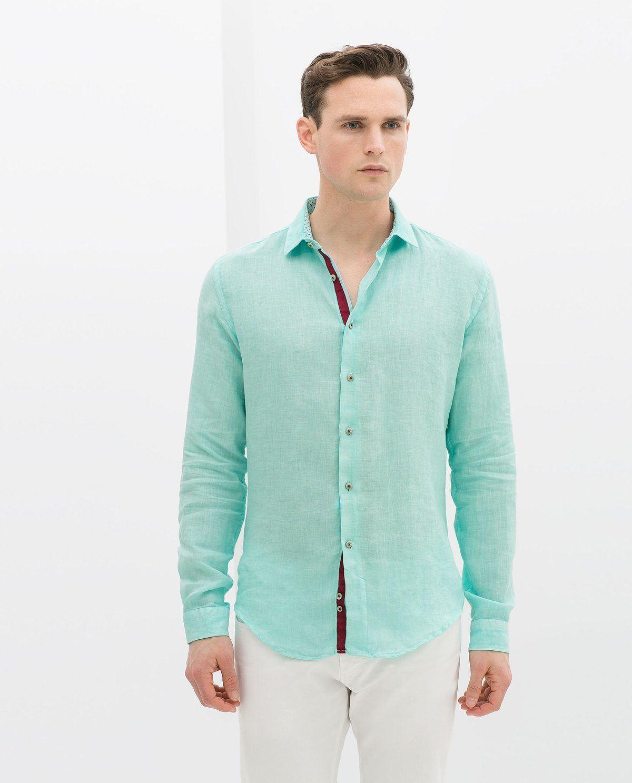Los hombres hueco Verano de manga corta Camisa