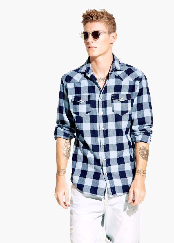 81695795eda32 Tendencias Camisas para hombre Primavera Verano 2015 - Modaellos.com