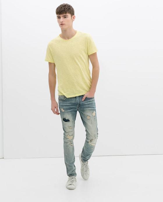 Tendencias Jeans para hombre Primavera Verano 2015