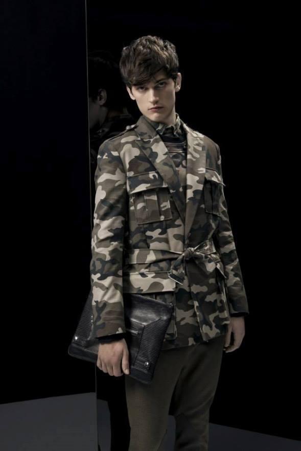 balmain-para-hombre-otono-invierno-2014-2015-chaqueta-estilo-militar