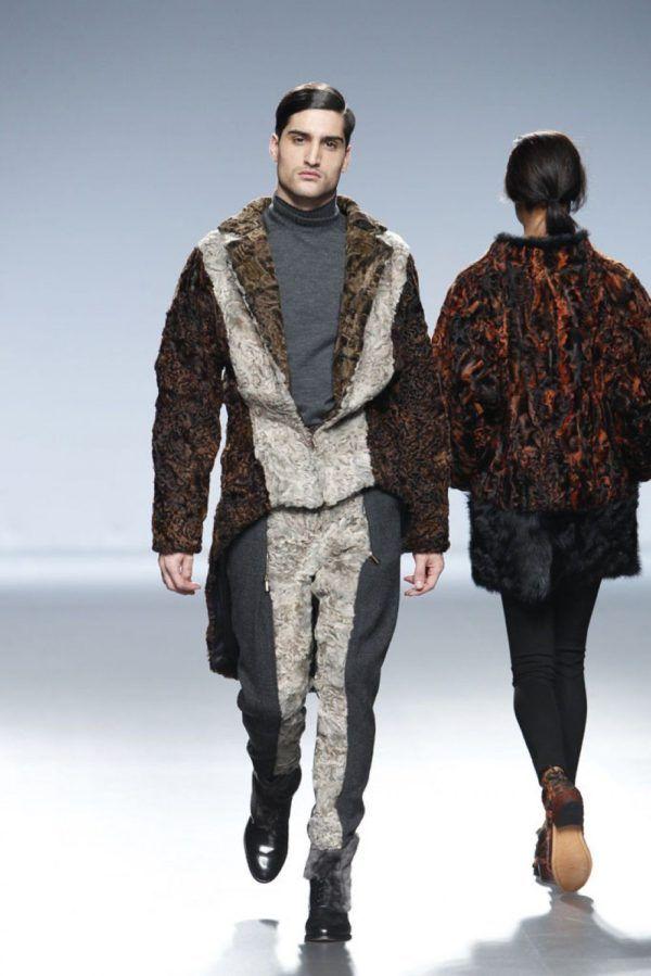 etxeberria-hombre-otono-invierno-2014-2015-chaqueta-pantalon-pieles