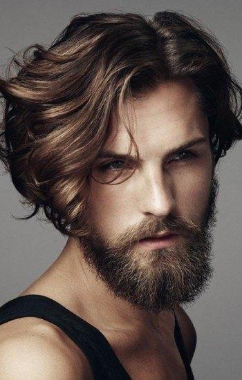 Cortes de cabello con pelo largo hombres