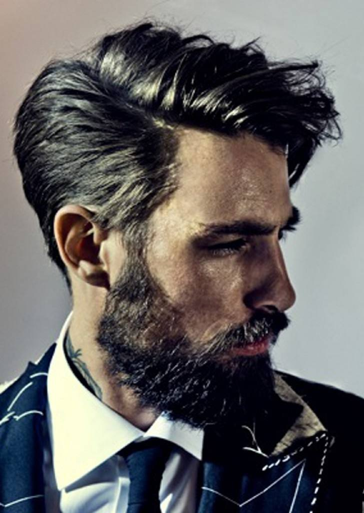 Los mejores cortes de cabello para hombre otono invierno for Peinado de lado hombre