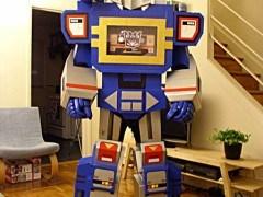 Disfraz Transformer para Halloween 2014