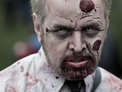 Fotos de Maquillaje Halloween para hombres 2017