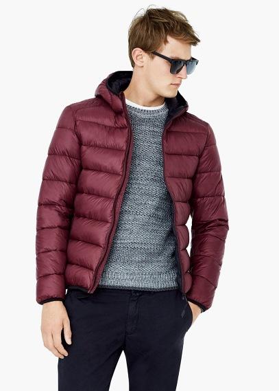 moda-abrigos-y-chaquetas-hombre-otono-invierno-tendencias-2015-2016-anorak-acolchado-borgoña-mango