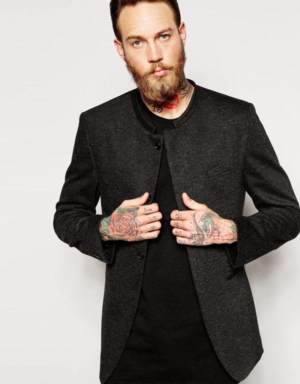 moda-americanas-blazer-hombre-otono-invierno-2015-2016-tendencias-americana-cuello-mao-de-asos