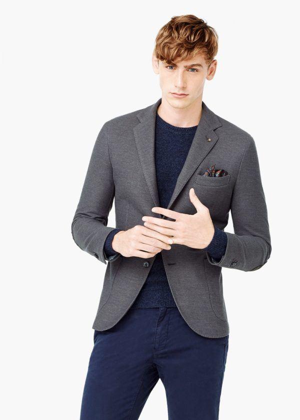 moda-americanas-blazer-hombre-otono-invierno-2015-2016-tendencias-americana-pique-gris-de-mango