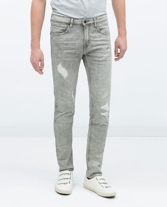 moda-pantalones-y-jeans-vaqueros-hombre-otono-invierno-2015-2016-modelo-ripped-de-zara-gris